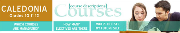 Caledonia Secondary Course Catalogue